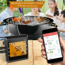 New listing Meat Thermometer Bluetooth Digital Kitchen Grill Cooking Bbq Baking Food Probe