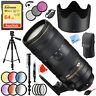Nikon AF-S NIKKOR 70-200mm f/2.8E FL ED VR Zoom Lens 20063 with 77mm Filter Kit
