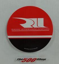 "Rahal Letterman Lanigan 3"" Round Decal Indy 500 Graham Rahal Takuma Sato IndyCar"