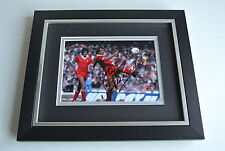Alan Kennedy SIGNED 10X8 FRAMED Photo Autograph Display Liverpool Football COA