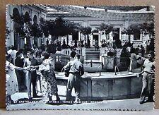 Castellamare di Stabia - terme stabiane - fontanine [grande, b/n, viaggiata]