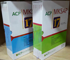 FULL SET MKSAP 17 Edition Parts A and B Brand New (2017 - 2018) Publication Year