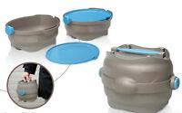 Ciotola per cani e gatti da viaggio EasyGo contenitore ermetico per acqua e cibo