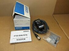 F10-S15 Omron NEW In Box Pattern Matching Vision Head Sensor Switch F10S15