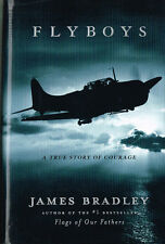 FLYBOYS - A TRUE STORY OF COURAGE - THE FATE OF 8 AMERICAN PILOTS--  USED