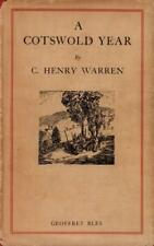 A Cotswold Year(Hardback Book)C. Henry Warren-Geoffrey Bless-UK-193-Good