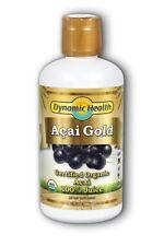 Dynamic Health Organic Certified Acai Gold Pure Juice 946ml Buy 3 Get 1 Free