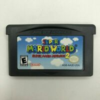 Super Mario World: Super Mario Advance 2 (Game Boy Advance, 2002) Game Only