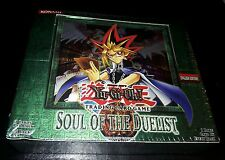 2004 YuGiOh Soul of the Duelist 1st Edition Booster Box SEALED