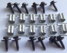 Unterfahrschutz Einbausatz Unterboden Repair Kit CLIPS Opel Zafira A, B 201