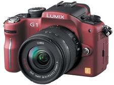 Panasonic Digital Slr Lumix G1 Lens Kit Con Photo Red Dmc-G1K-R