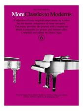 More Classics To Moderns 6 Learn to Play Present Gift MUSIC BOOK Piano
