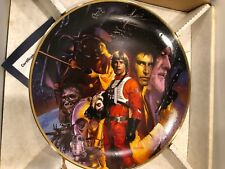 Star Wars A new Hope - Collector plate by Hamilton- Used with box and cert.