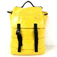 Auth DIESEL Yellow Nylon Backpack