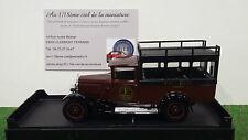 CITROEN  C4F FAUCHON marron 1/43 SOLIDO 203175 voiture miniature collection 4446
