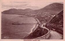 PENMAENMAWR WALES Vintage Real Photo Postcard GEORGE HALF PENNY STAMP