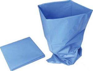 HEAVY DUTY DURABLE BLUE RUBBLE SACKS/BUILDERS BAGS/RUBBISH 20x30'' (50cmx75cm)