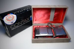 Contax T Point and Shoot Film Camera #015483