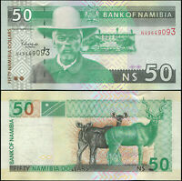 Namibie 50 Dollars. NEUF ND (2006) Billet de banque Cat# P.8b