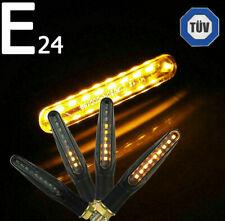 4x LED Motorrad Mini Blinker Sequentiell Lauflicht E24 E-Prüfzeichen 12V TÜV