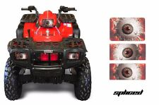 AMR Racing Polaris Sportsman 500 Headlight Eyes Decal Stickers 95-04 SPLICED