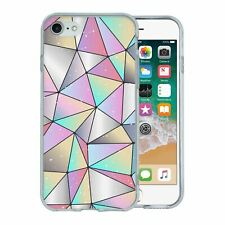 For Apple iPhone 8 Silicone Case Bling Geometric Diamond Pattern - S662