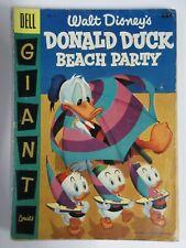 DONALD DUCK BEACH PARTY #2 (Dell Giant, 7/1956) POOR (PR) Walt Disney, see desc