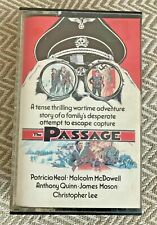 THE PASSAGE - Pre Cert Betamax video SLEEVE & CASE only - NO tape - PTV
