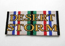OPERATION DESERT STORM GULF WAR EMBROIDERED PATCH 4 INCHES