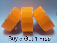 Price Gun Labels Orange CT4 26mm x 12mm Price Labels Permanent - 15,000 Labels
