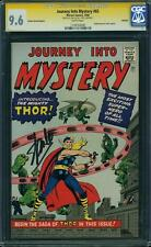 Journey Into Mystery #83 CGC 9.6 1966 1st Thor! Stan Lee Signature! GRR! F2 H cm