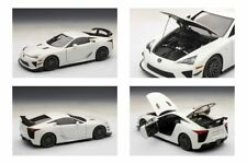 1:18 AUTOART LEXUS LFA NURBURGRING PACKAGE 2011 WHITE 78837 RARE NEW