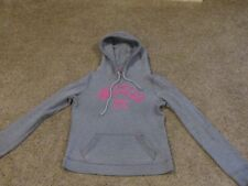 Hollister sweatshirt juniors size small  gray and pink