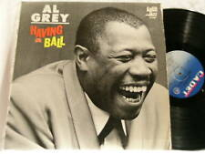 AL GREY Having a Ball Bobby Hutcherson Dave Burns Cadet LP Calvin Newborn