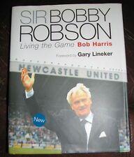 Sir Bobby Robson: Living the Game by Bob Harris (Hardback, 2003)