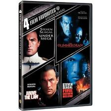 4 Film Favorites: Steven Seagal (DVD, 2007, 2-Disc Set)