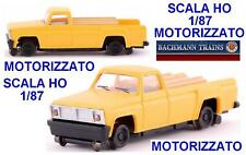 BACHMANN FURGONE PICK-UP MOTORIZZATO per TRASPORTO e MANUTENZIONE SCALA-HO 46201