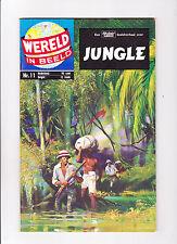 """Wereld In Beeld  Nr.11  :: 1960's ::   :: """"Jungle"""" ::   :: Dutch Copy! ::"""
