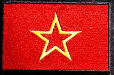 Red Army Patch  Soviet Flag Embroidered Iron Sew On Badge USSR Russia Communist