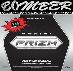St. Louis Cardinals 2021 Panini Prizm Baseball Hobby 4-Box Break 1