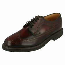 SCARPE GEOX DERBY BORDEAUX - 40 / UK 7 ENGLISH COLLEGE LEATHER BURGUNDY LACE UP