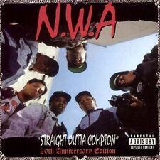 N.W.A STRAIGHT OUTTA COMPTON 20TH ANNIVERSARY 5 BONUS TRACKS NEW SEALED CD NWA