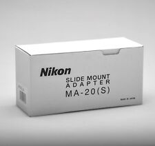 Nikon MA-20 Single Slide Adapter Brand New - NOS!