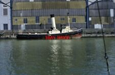 PHOTO  1994 TID 164 CHATHAM HISTORIC DOCKYARD WWII VINTAGE STEAM TUG NOW OWNED B