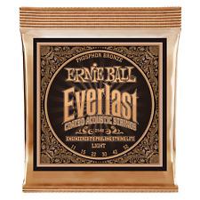 Ernie Ball Everlast Coated Phosphor Bronze Light Acoustic Guitar Strings P02548