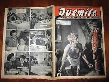 """FOTOROMANZO """"DUEMILA"""" SETTIMANALE DI AVVENTURE NUMERO 44 DEL 4 NOVEMBRE 1951"""