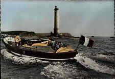LA HAGUE Manche Frankreich ~1950/60 Canot de Sauvetage de Gooury Leuchtturm