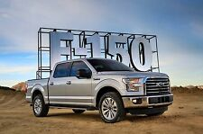 2017 Ford F-150 front qtr 24X36 inch poster, truck