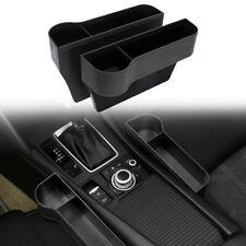 2x Car Seat Gap Organiser Tray Catcher Holder Storage Box Cup Holder Side Pocket