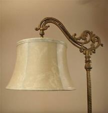 Bridge Floor Lamp Shade Faux Leather for Antique Lamp Tailor Made Lampshades